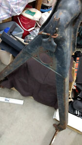 Metal truck or trailer tow bar for small car or trailer