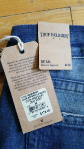 Mens True religion shorts Jean's 36