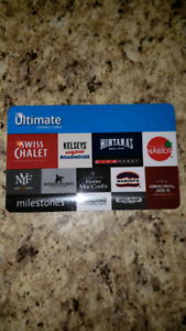 $50 ultimate dining card