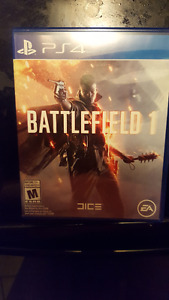 ps4 Battlefield 1 for FF15