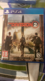 Tom Clancy's Divisiom 2 PS4 game