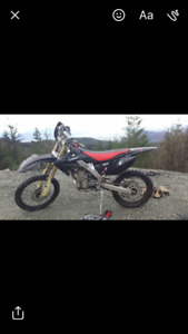 2005 crf250r low hrs