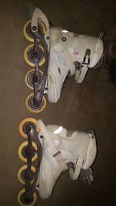 Assorted men's and women's inline  skates