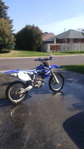 2005 yamaha yzf250 trade for dual sport bike