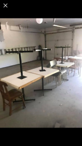 Table and chair lot