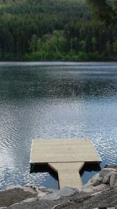 8' x 16' floating dock