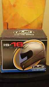 IS-16 motorcycle helmet with accessories included