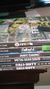 Xbox one gta v fallout 4  mgs v ultimate witcher 3 steel book