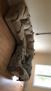 2 piece L shaped sectional couch