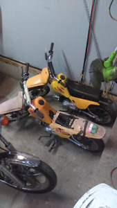 Two Baja 50 cc.....potentially sold when I get back from holiday