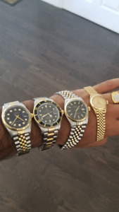 (Dealers/Collectors) 4 Rolex Watches for sale at Discount.