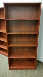 Multiple Cherrywood Bookcases