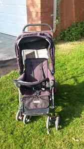 Joovey Caboose sit to stand double stroller
