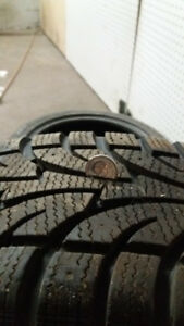 4 Winter tires 205/65R15 with rims