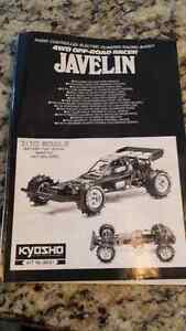 VINTAGE RC MANUALS TAMIYA KYOSHO
