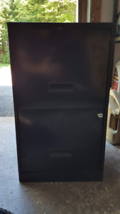 Filing cabinet - 2 drawer - metal - FREE