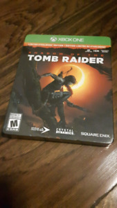 Shadow of the Tomb Raider Limited Steelbook