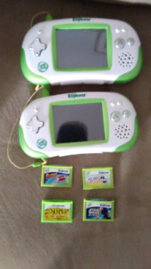 Leap frog with 4 games