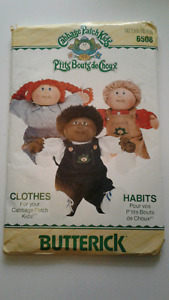 Cabbatch Patch pattern for dolls vintage from 1988