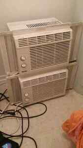 2 air conditioners for $100! Used for only 2 months