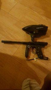 2 paintball markers