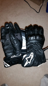 Alpinestars gp plus leather gloves