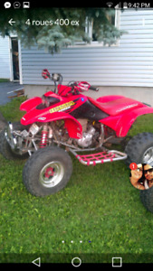 honda trx 400ex 1999 echange possible