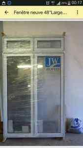 Fenêtre en PVC 48x78