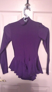 Purple figure skating dress