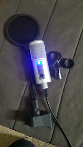 AUDIO TECHNICA ATR2500 USB CONDENSER MICROPHONE WITH POP FILTER