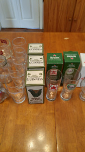 Beer mugs and glasses for sale