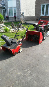 Snowblowers 5 gear in great condition