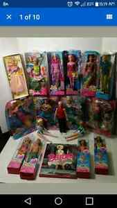 Lot of barbies