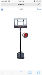 Wanted Adjustable Movable BasketBall net please