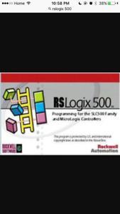 Allen Bradley Rslogix 500 software for sale
