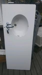 Bathroom sink available