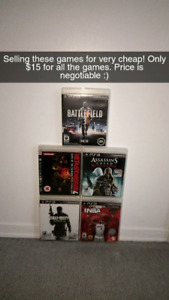 Very cheap ps3 games!! *BUNDLE*