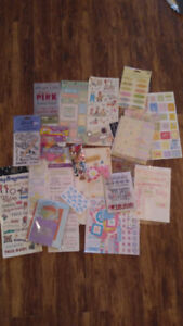 Scrapbooking Supplies Baby and Pregnancy (girl and boy)