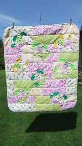 Flannel Raggy Dog Quilt Peterborough Peterborough Area image 1
