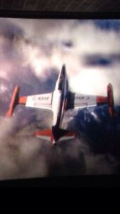 WANT - Lockhead T-33 - Airplane, jet fighter, plane, 1960