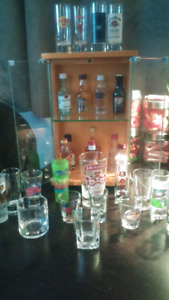 Collection de verre a shooter+boissons
