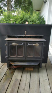 Beult in fireplace / wood stove for sale$200