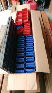 **SOLD**Nut and Bolt Bins