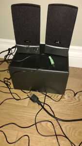 computer speakers or best offer