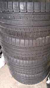 Winter tires continental 245/45r17
