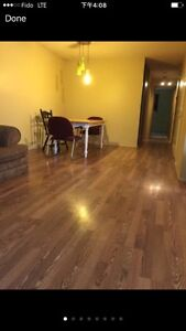 Available Aug1 three bedroom in the main