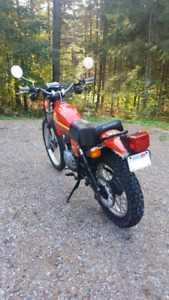 1979 Honda XL250S Street Legal