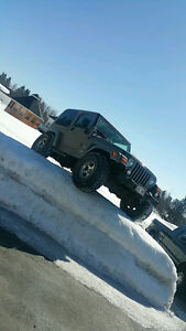 2003 Jeep TJ sahara Coupe (2 door)