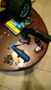 Nitro motor and parts