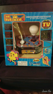 1993 Ms PacMan still in box.
